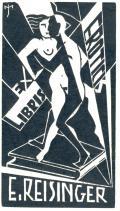 EX LIBRIS E. REISINGER (odkaz v elektronickém katalogu)