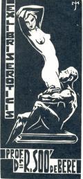 EX LIBRIS EROTICIS PROF. Dr. R. SOÓ de BERE (odkaz v elektronickém katalogu)