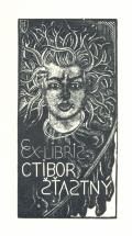 EX-LIBRIS CTIBOR ŠŤASTNÝ (odkaz v elektronickém katalogu)