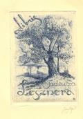 exibris Taudeusza Lesznera (odkaz v elektronickém katalogu)