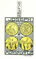 EX LIBRIS JOSEPH MONSALVATJE (odkaz v elektronickém katalogu)