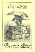 Ex libris Therese Adler (odkaz v elektronickém katalogu)