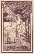 EX LIBRIS HEDWIG WEGNER (odkaz v elektronickém katalogu)