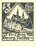 ExLibris Georg Reitter (odkaz v elektronickém katalogu)