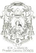 EX LIBRIS Praelati Canonici BOROS (odkaz v elektronickém katalogu)