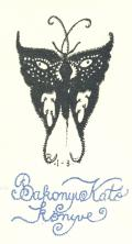 Bakonyi Kató könyve (odkaz v elektronickém katalogu)