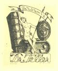 Ex libris Dr. Teller (odkaz v elektronickém katalogu)