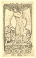 EX LIBRIS BERTA GRAF (odkaz v elektronickém katalogu)