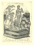 Exlibris Alfred Hesch (odkaz v elektronickém katalogu)