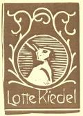 Lotte Riedel (odkaz v elektronickém katalogu)