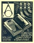 A DEBRECENI IZRAELITA POLGARI LEÁNYISKOLA TANÁRI KÖNYVTÁRA (odkaz v elektronickém katalogu)