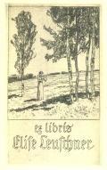 ex libris Elise Leuschner (odkaz v elektronickém katalogu)