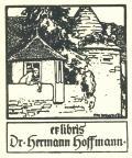 ex libris Dr. hermann hoffmann (odkaz v elektronickém katalogu)
