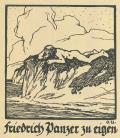 Friedrich Panzer zu eigen (odkaz v elektronickém katalogu)