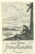 exlibris Franz Handlos (odkaz v elektronickém katalogu)