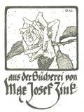 aus der Bücherei von Mar Josef Zink (odkaz v elektronickém katalogu)