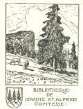 BIBLIOTHEQUE DE JEANNE ET ALFRED COMTESSE (odkaz v elektronickém katalogu)