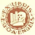 EX LIBRIS E.G.O.A. ENGELS (odkaz v elektronickém katalogu)