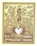 EX LIBRIS Dr. MAGYAR SIMON (odkaz v elektronickém katalogu)