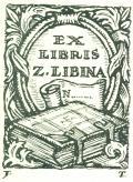 EX LIBRIS Z. LIBINA (odkaz v elektronickém katalogu)