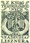 Z KSIAG TEATROLOGICZNYCH TÁDEUSZA LESZNERA (odkaz v elektronickém katalogu)