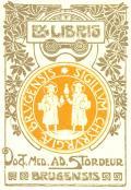 EX LIBRIS Doct.MED.AD.STORDEUR (odkaz v elektronickém katalogu)