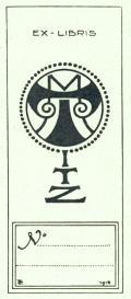 EX-LIBRIS M.TITZ (odkaz v elektronickém katalogu)