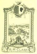 EX-LIBRIS R.M. CLARK (odkaz v elektronickém katalogu)