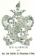 EX-LIBRIS DE Ruy José Achilles de Albuquerque d´Orey (odkaz v elektronickém katalogu)