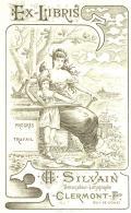 EX-LIBRIS CH. SILVAIN Dessinateur-Lithographe CLERMONT-F ( PUY-DE-DÓME) (odkaz v elektronickém katalogu)