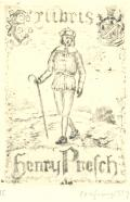 Exlibris Henry Presch (odkaz v elektronickém katalogu)