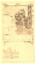 Exlibris Gusti Kaufmann (odkaz v elektronickém katalogu)