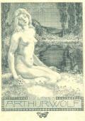 EX LIBRIS ARTHUR WOLF (odkaz v elektronickém katalogu)