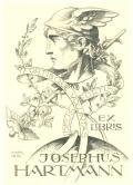 EX LIBRIS JOSEPHUS HARTMANN (odkaz v elektronickém katalogu)