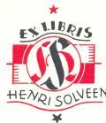 EX LIBRIS HENRI SOLVEEN (odkaz v elektronickém katalogu)