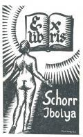 Ex libris Schorr Ibolya (odkaz v elektronickém katalogu)