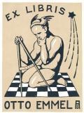 EX LIBRIS OTTO EMMEL (odkaz v elektronickém katalogu)