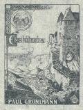 Ex-Libris PAUL GRONEMANN (odkaz v elektronickém katalogu)