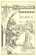 P. GRONEMANN EX LIBRIS (odkaz v elektronickém katalogu)