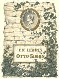 EX LIBRIS OTTO SIMON (odkaz v elektronickém katalogu)
