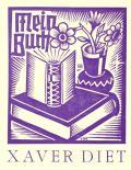 Mein Buch XAVER DIET (odkaz v elektronickém katalogu)