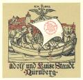 EX LIBRIS Adolf und Luise Standt Nürnberg (odkaz v elektronickém katalogu)
