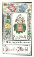 Ex libris Familie Blöchl (odkaz v elektronickém katalogu)