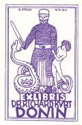 EXLIBRIS DR. RICHARD KURT DONIN (odkaz v elektronickém katalogu)
