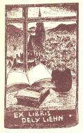 EX LIBRIS DELY LIEHN (odkaz v elektronickém katalogu)
