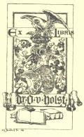 Ex Libris Dr. O.Holst (odkaz v elektronickém katalogu)
