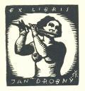 EX LIBRIS JAN DROBNÝ (odkaz v elektronickém katalogu)