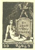 EX LIBRIS ŠTĚPÁN POLÁŠEK TOPOL (odkaz v elektronickém katalogu)