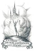 EX LIBRIS DR. SCHLAMMADINGER JÓZSEF (odkaz v elektronickém katalogu)