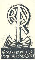 EXLIBRIS RUDI ABENDROTH (odkaz v elektronickém katalogu)
